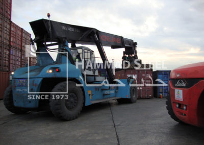 Crane Ready for Carring Container