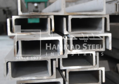 High Quality Steel Channels in our Warehouse