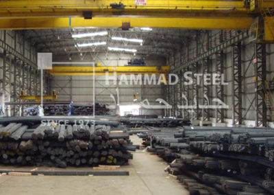 Huge Stock of Steel Rebar