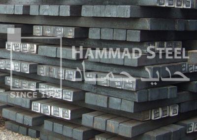 Steel Billet Stock In Warehouse