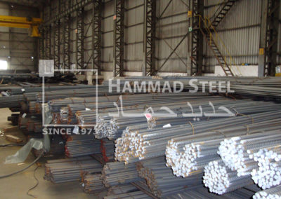 Steel Rebars Ready to be Shipped from our Extensive Inventory