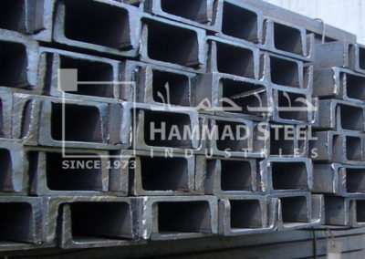 UPN Steel Channel Stock In Warehouse